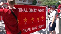 Liverpool fans enjoy Madrid sunshine ahead of final