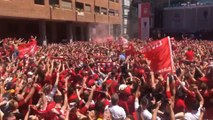 Le sublime « You'll never walk alone » des supporters de Liverpool à Madrid