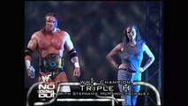 WWF No Way Out 2000 - Triple H vs. Cactus Jack Hell in a Cell WWE Championship Match