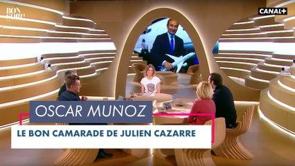 Le bon camarade: Oscar Muñoz - Bonsoir ! du 01/06  - CANAL+