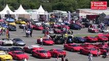 VIDEO. Le Vigeant : des Ferrari contre le cancer
