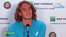 """Roland-Garros 2019 - Stefanos Tsitsipas est en 8es pour la 1ère fois : """"Si je devais me décrire... !"""""""