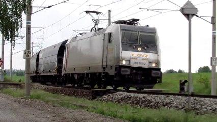 Lokomotiva E186 361-2 - Opatov, 1.6.2019 HD