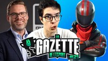 Nate Nanzer chez EPIC GAMES | Gazette de l'esport #21