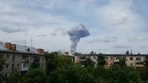 Fast 100 Verletzte bei Explosionen in russischer Sprengstofffabrik