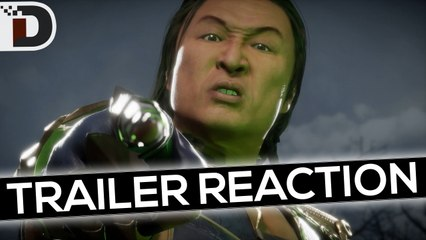 FIG REACTS- Your Soul is MINE! Mortal Kombat 11 Kombat Pack Shang Tsung Gameplay Trailer