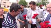 SİVAS Turistik Doğu Ekspresi Treni yolcuları halaylarla karşılandı