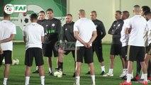 CAN 2019 : Premiere séance d'entrainements de Verts