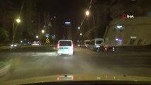 Ehliyetsiz sürücü 30 kilometre boyunca polisten kaçıp dehşet saçtı