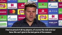 (Subtitled) 'It's so painful' Pochettino on losing Champions League final
