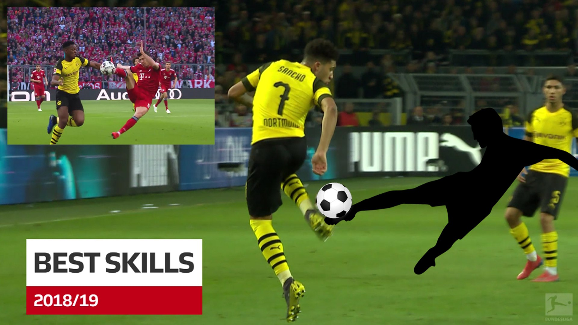 Bundesliga: Best skills of the season 2018/19