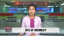 BTS holds historic concert at Wembley Stadium