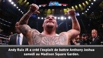 Poids lourds: Anthony Joshua tombe loin de ses terres !