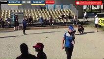 Pétanque : Championnats Territoriaux Rhône-Alpes 2019 à Chabeuil - Poules x2 féminin BERRUYER vs CHARAVIT