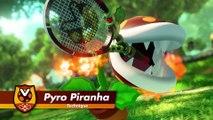 Mario Tennis Aces - Bande-annonce Pyro Piranha