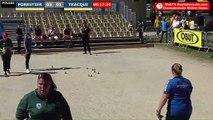 Pétanque : Championnats Territoriaux Rhône-Alpes 2019 à Chabeuil - Poules x2 féminin FORESTIER vs TRACQUI