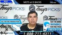 New York Mets vs Arizona Diamondbacks 6/2/2019 Picks Predictions