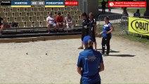 Pétanque : Championnats Territoriaux Rhône-Alpes 2019 à Chabeuil - Poules x2 féminin MAROS vs FORESTIER