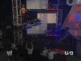 Jeff Hardy vs Randy Orton-hardy takes out orton... and him 2