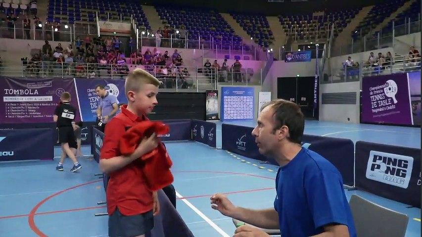 Ch. France 2019 - Finale Benjamins - Flavien COTON / Luca TRASCU
