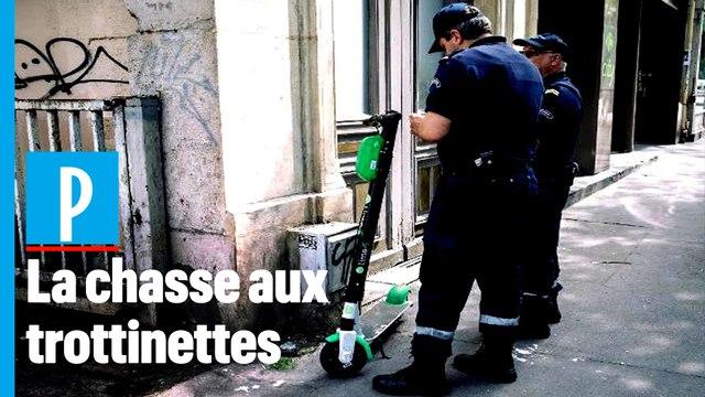Paris : haro sur les trottinettes électriques