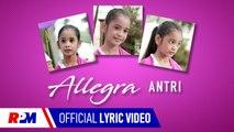 Allegra - Antri (Official Lyric Video)