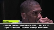 (Subtitled) 'It's settled in bro' Anthony Joshua reflects after shock heavyweight loss to Andy Ruiz Jr.