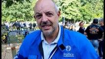 Jurbise balade à moto l'inspecteur Caroy explique sa passion