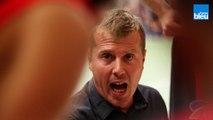 Réaction de l'entraîneur de Dax Gamarde Denis Mettay