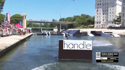 Pedro Caldas   3rd place - Wakeboard Pro Final   FISE Montpellier 2019