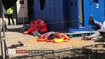Migrants : 74 personnes interceptées en pleine traversée de la Manche