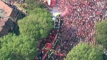 Further coverage of the Liverpool Champions League parade