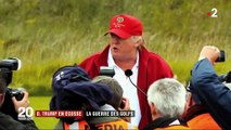 Écosse : Donald Trump au cœur d'une lutte pour la création d'un golf