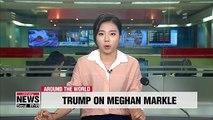 "Trump denies calling Duchess of Sussex, Meghan Markle, ""nasty"""