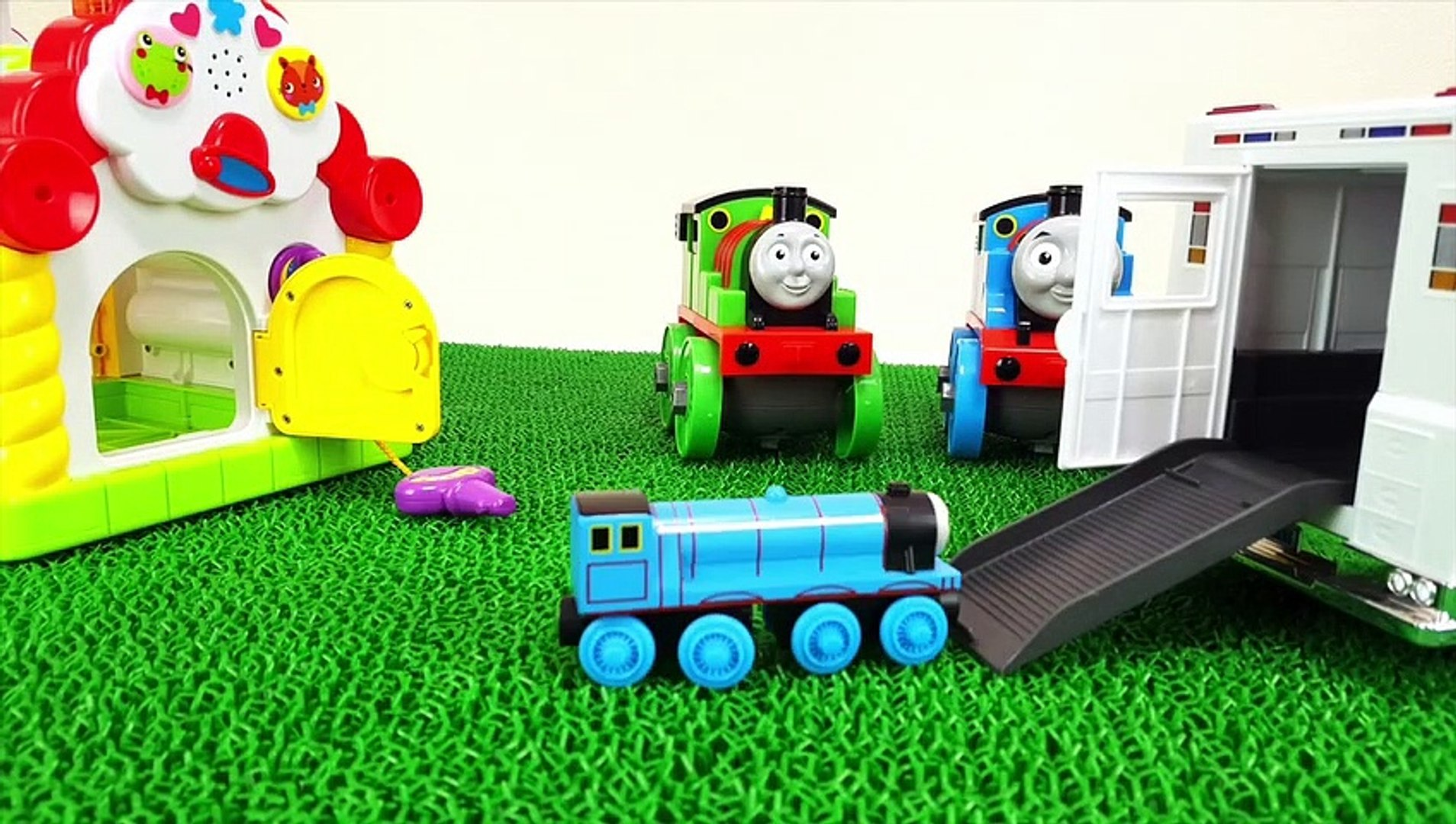 Learn Colors Thomas & Friends Step into the Ambulance Spo Spo Movie for Children