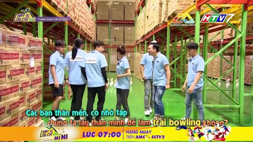 Chạy Đi Chờ Chi- Jun Phạm, Ngô Kiến Huy trổ tài lăn bánh xe
