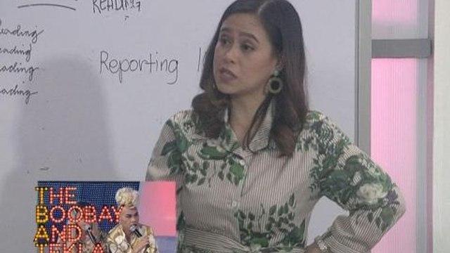 TBATS: Aubrey Carampel, nang-good time ng mga mass comm students!