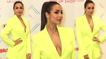 Malaika Arora flaunts bossy look in Pant Suit at GQ style awards; Watch Video | FilmiBeat