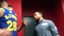 Kevin Durant et Klay Thompson prennent un malin plaisir à trash talker Drake