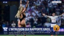 Le joli coup de pub de la jeune femme en maillot de bain qui a perturbé la finale de la Ligue des Champions