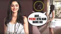 SOTY 2 Actress Ananya Pandey UPSET With Media Arrived At Kwan Office Andheri