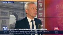 """""""Quelle est la politique du parti?"""" François de Rugy réagit à la démission de Laurent Wauquiez des Républicains"""