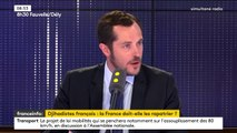 """Jihadistes français condamnés à mort en Irak : """"Le droit pénal irakien doit s'appliquer"""", pour Nicolas Bay"""