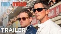 FORD v FERRARI | Official Trailer - Matt Damon Christian Bale Jon Bernthal