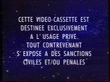 Début VHS de Maxi Cartoon - Porky Pig tous en Voiture - Années 90