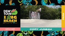 Two-Time Dew Tour Park Champion Cory Juneau set to Skate Olympic Qualifier | 2019 Dew Tour
