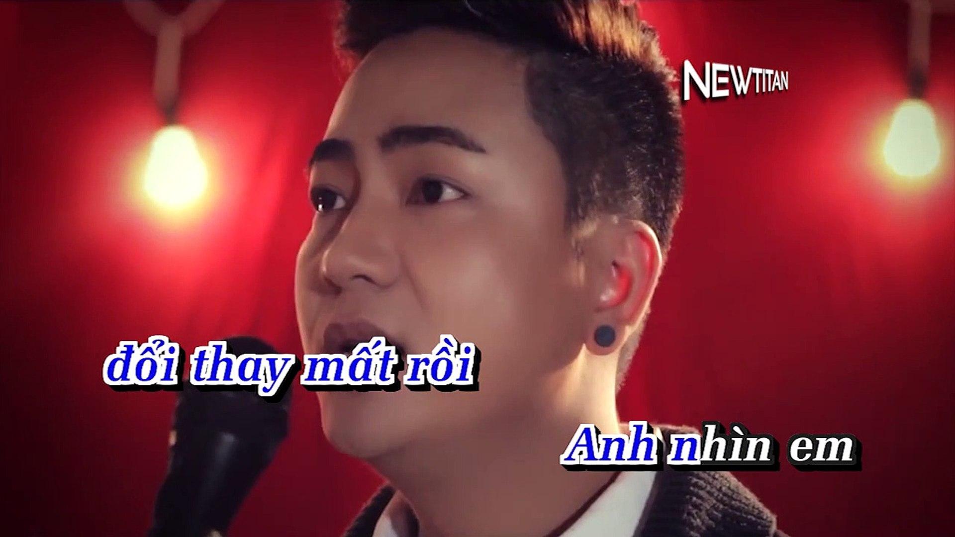 [Karaoke] Anh Không Thể Tha Thứ Mình - Nam Du [Beat]