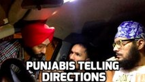 How Punjabi's Tell Directions