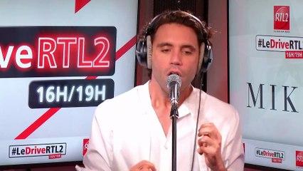 Mika en live et en interview dans  #LeDriveRTL2