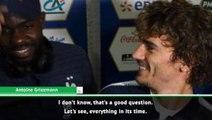 'That's a good question' - Griezmann coy on his future